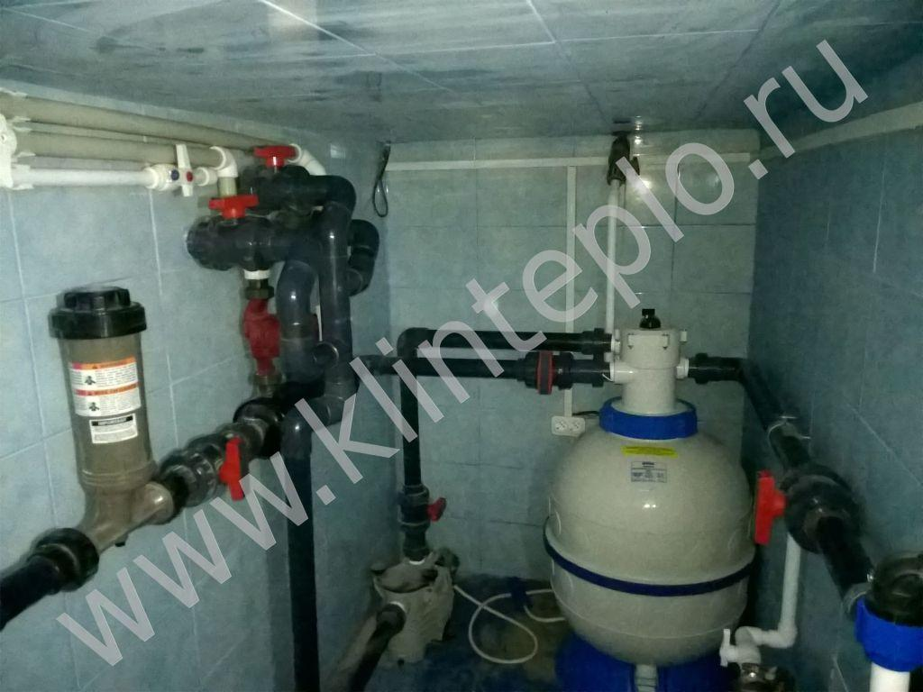 Теплообменник для бассейнов с обвязкой Пластинчатый теплообменник Машимпэкс (GEA) LWC 250S Балаково