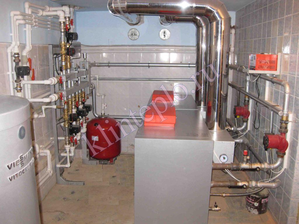Схема установки отопления в частном доме